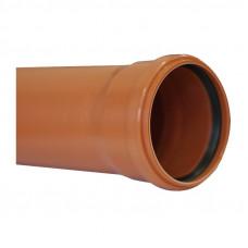 Труба канализационная наружная SN4 d=110х3,4х1000мм