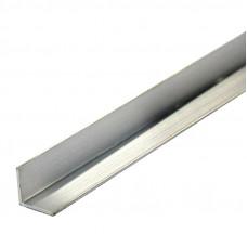 Уголок алюминиевый, 20x20x2,0 мм, 2 м