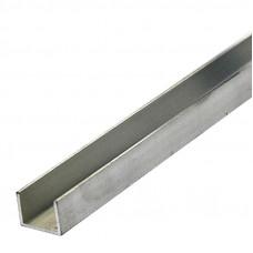 Швеллер алюминиевый, 10x10x10x1,5 мм, 2 м