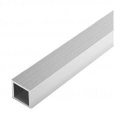Труба квадратная алюминиевая, 20x20x1,5 мм, 2 м