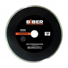 Диск алмазный сплошной Премиум 125 мм BIBER 039556