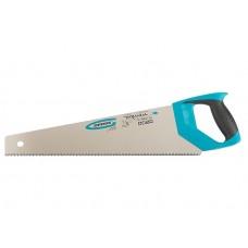 Ножовка по дереву GROSS PIRANHA, 450мм, 7-8 TPI, Каленый 3D зуб, 24100