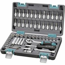 Набор инструментов, 57 предметов STELS 14101
