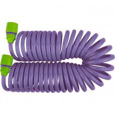 Шланг спиральный, 7,5 м х 10 мм, пластм. фурнитура, разбрызгиватель PALISAD 67412