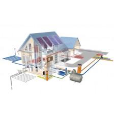 Монтаж систем водоснабжения, водоотвода и отопления