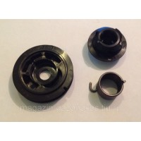 Ремкомплект стартера триммера ECHO SRM22 / GT22 (храповик+пружина+барабан) P050009920